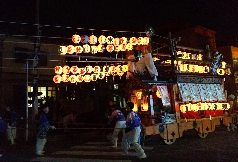 橘町ケンカだんじり祭り
